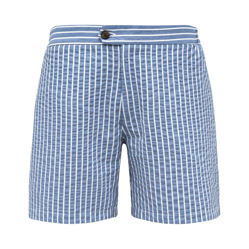 Tailored Originals Swim Shorts - Azure Blue - Morville