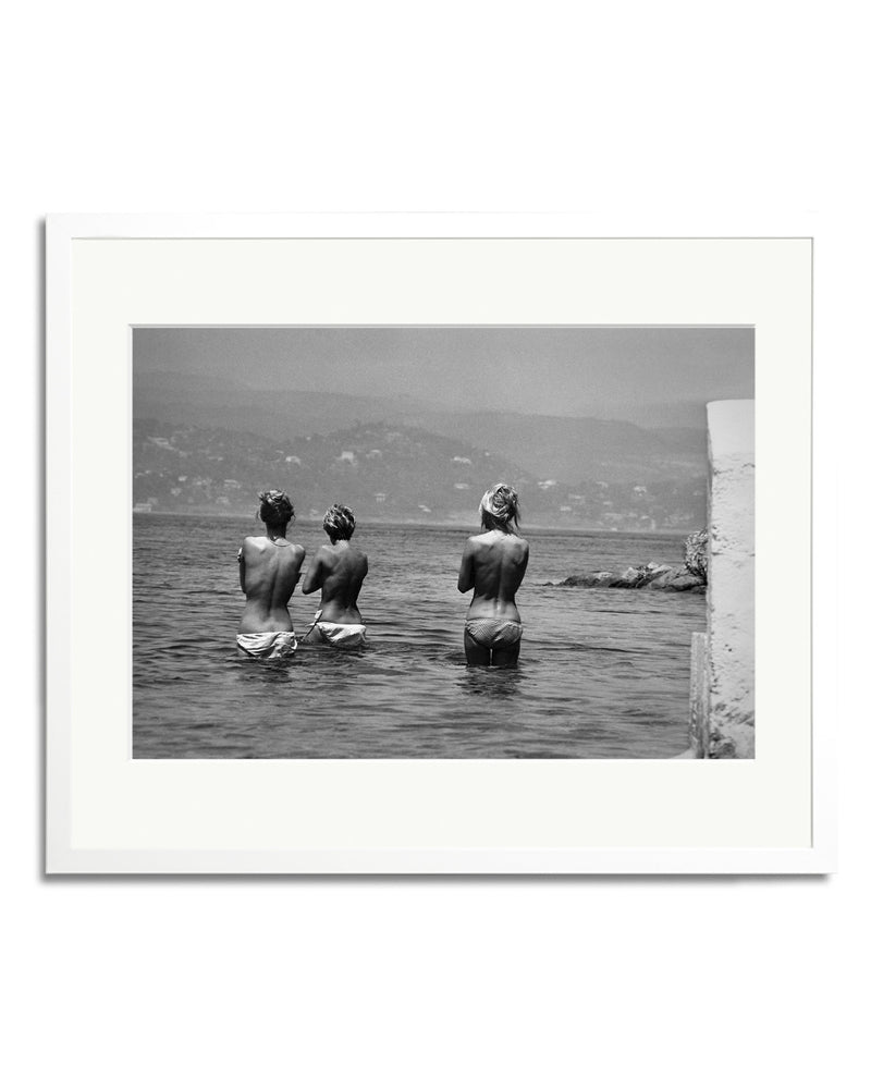Bardot Bathing with Two Friends