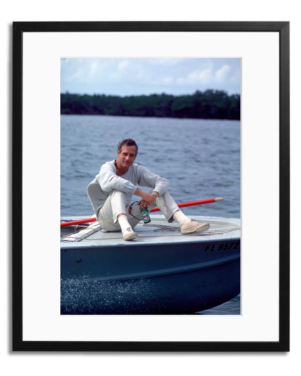 Newman On A Boat
