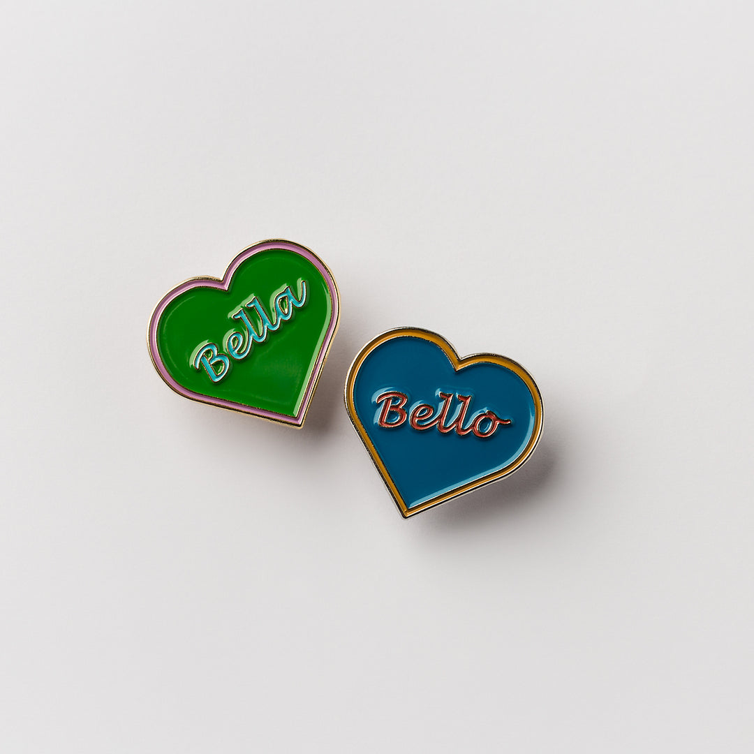 Beautiful Lapel Pin by Bella Clark Jewellery