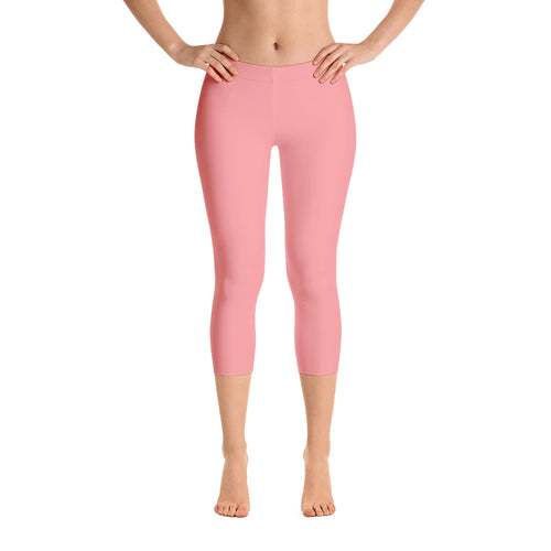 Essential Pink Capri Leggings