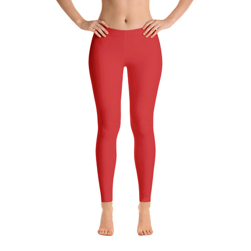 Essential Red Leggings