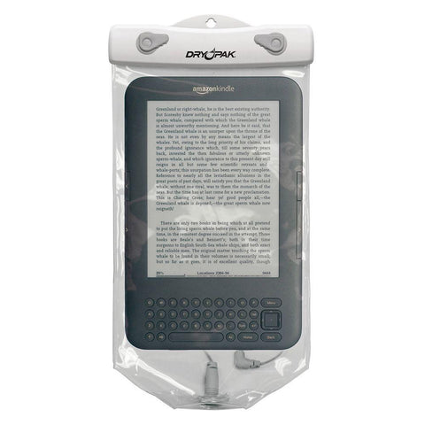 Dry Pak Clear Tablet Case F/Kindle White/Grey - (6 X 10)