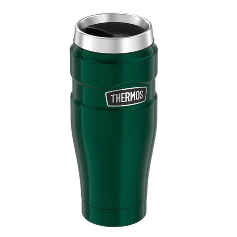 Thermos Stainless King Vacuum Insulated Stainless Steel Travel Tumbler - 16oz - Pine Green
