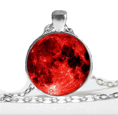 Blood Moon Pendant Necklace - 50% OFF