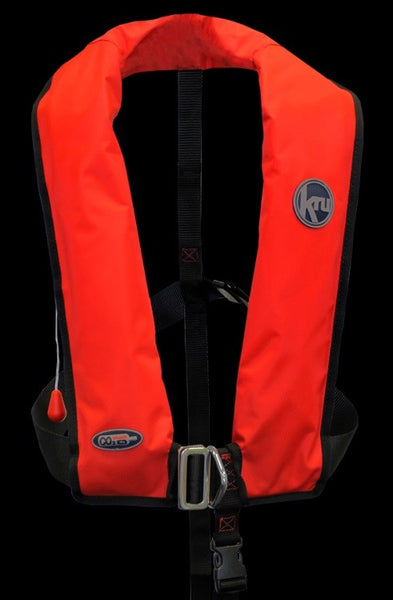 Kru 170N Automatic Lifejacket with Harness