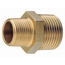 Brass Unequal nipple BSP thread