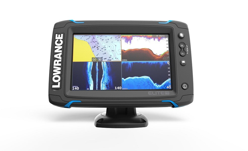Lowrance Elit-7 Ti Mid/High/TotalScan