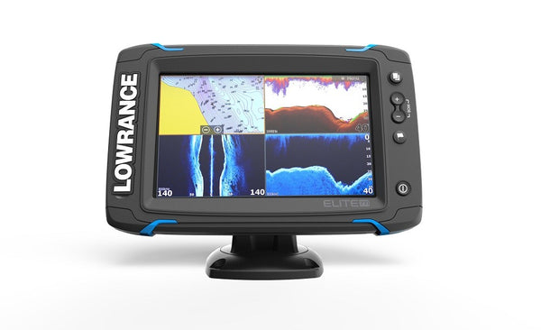 Lowrance Elite-7 Ti Mid/High/DownScan™
