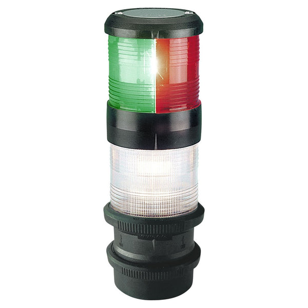 S40 Sailboat / Strobe Lights Q/Fit Tri- White 12V