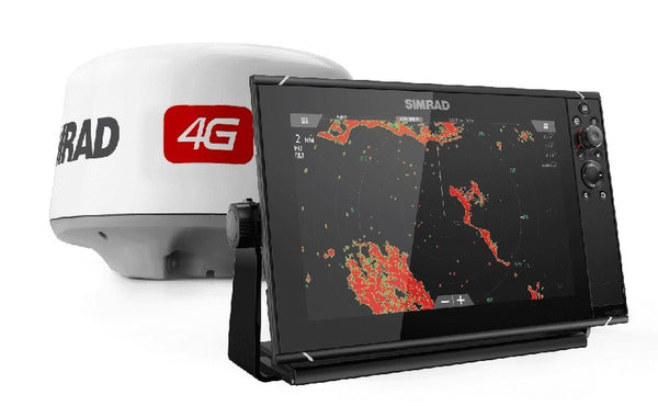 Simrad NSS12 evo3 with Broadband Radar