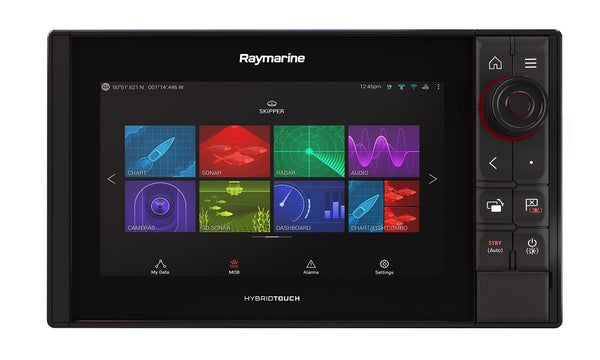 Raymarine Axiom 9 Pro-S HybridTouch Multifunction with intergrated High CHIRP for CPT-S