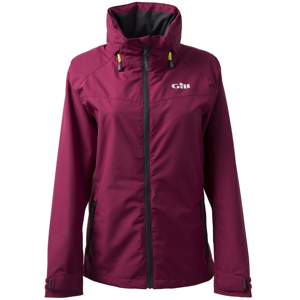 Gill Womens Pilot Jacket Berry