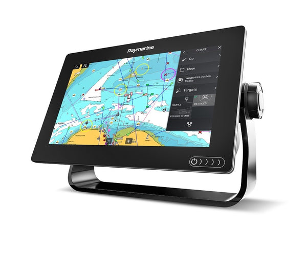Raymarine Axiom 9 Multifunction with RealVision 3D, CPT-100DVS transducer and Navionics+ Small Chart