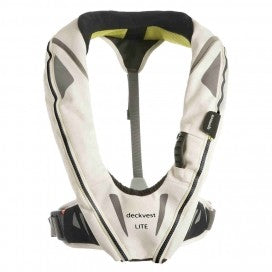 Spinlock Deckvest Lite 170N Lifejacket (Tropic White)