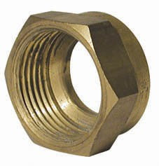 COUPLING NUT & COPPER RING