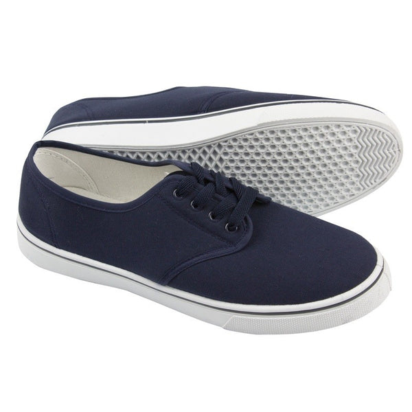 Yachtmaster Lace-Up Canvas Shoe