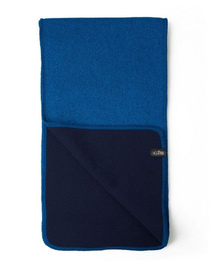 Gill Knit Fleece Scarf Blue