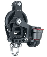 Harken 45mm ELEMENT Block Single, swivel cam and becket