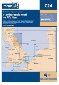 Imray C24 Flamborough Head to Fife Ness Chart