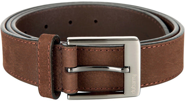 Dubarry Leather Belt - Walnut 32/34