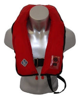 K2 SOLAS 275N Twin Chamber Lifejacket Red with Hood & AQ40 Light