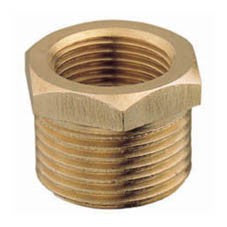 Brass Hex Bush BSP thread