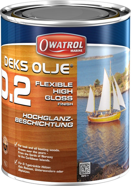 Deks Olje D2 High Gloss Finish Coat