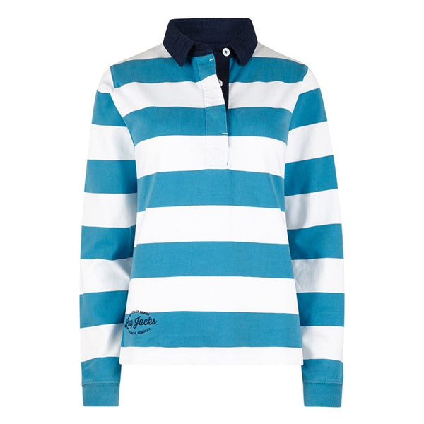Lazy Jacks Ladies Striped Rugby