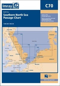 C70 Southern North Sea Passage Chart