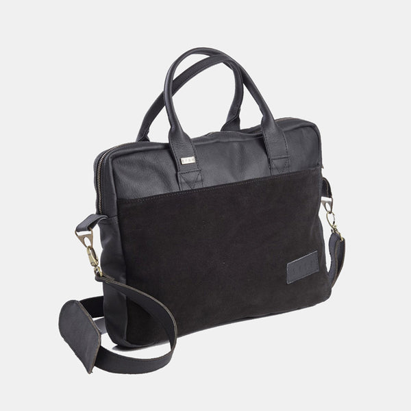 Heiko Laptop Bag - Black