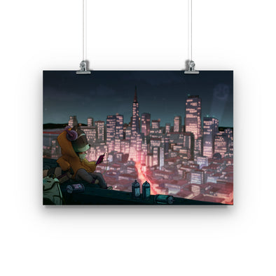 'City Escape' Fine Art Print