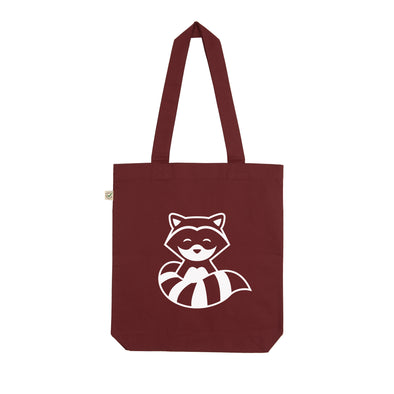 Chillhop Music Raccoon Tote Bag