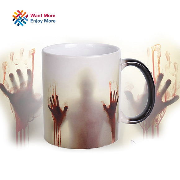 MUG THE WALKING DEAD THERMO-RÉACTIF