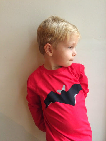 Bat - Halloween - Long Sleeved T-shirt