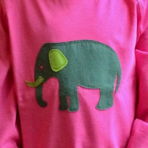 Baby Elephant - Long Sleeved T-shirt