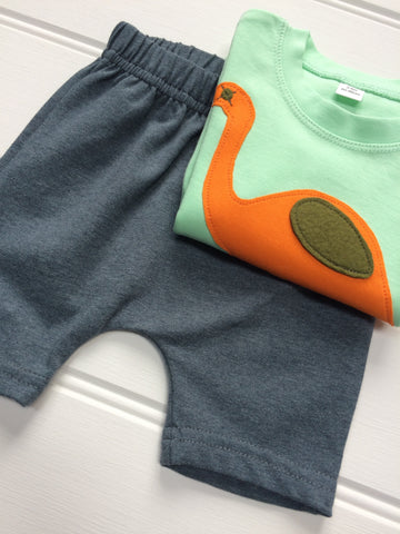 Isabee Ocean Blue shorts for  babies and toddlers