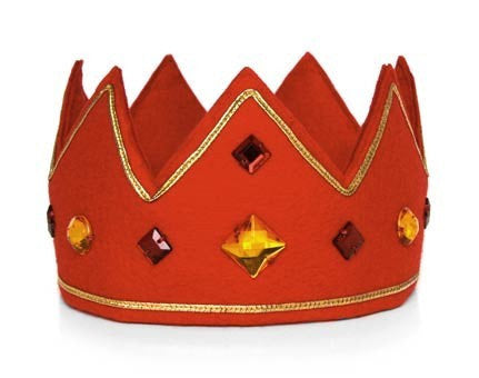 King & Queen Crown - Red