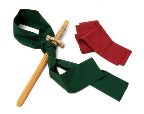 Red Sash/Belt for Swords