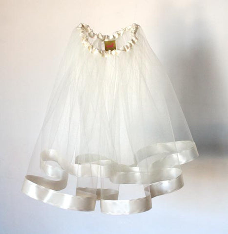 Bride's White Skirt