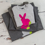 Parent and Child Rabbit T-Shirt Set