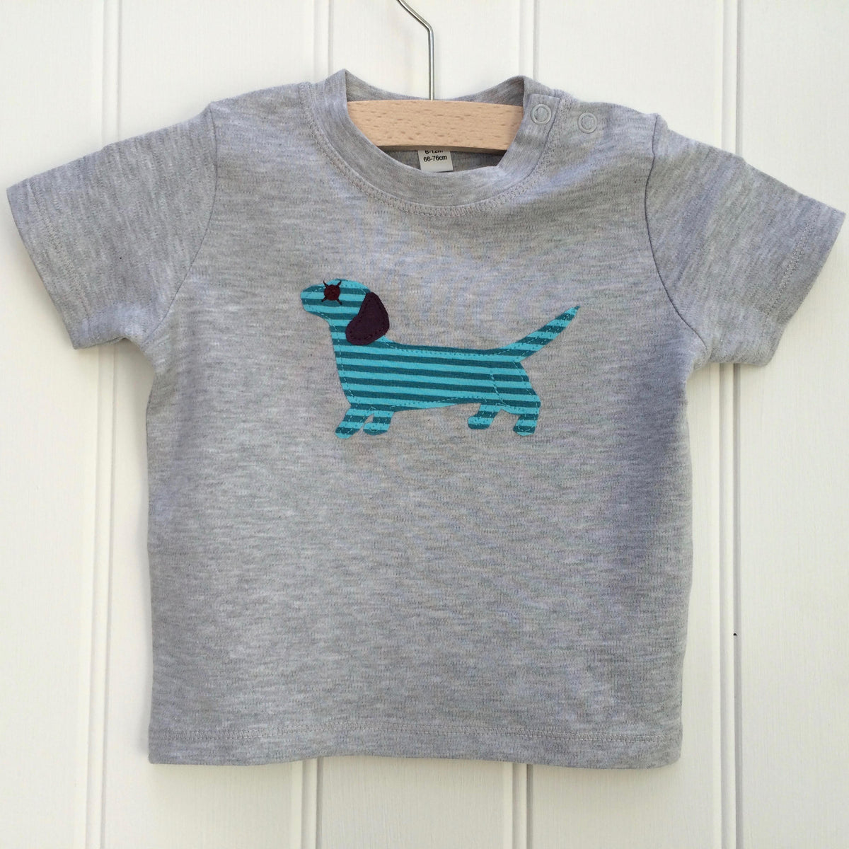7ab7a8594 Baby Dachshund T-shirt - isabee.co.uk