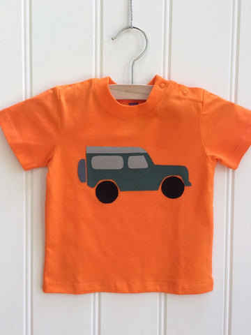 Baby jeep T-shirt - Orange