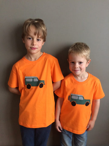 jeep T-shirt - Orange