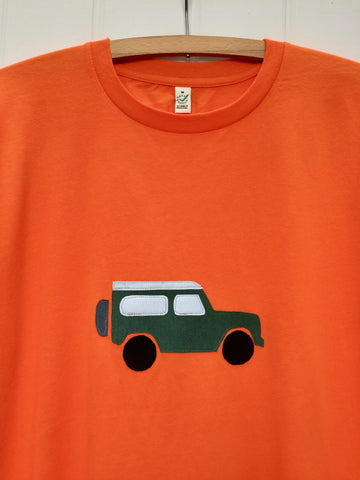jeep Applique T-shirt - unisex/mens fit