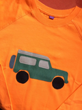 jeep – Long Sleeved T-shirt - Orange