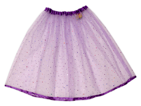 Purple Sparkly Skirt