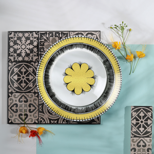 The Marigold Field - 6 Plate Set