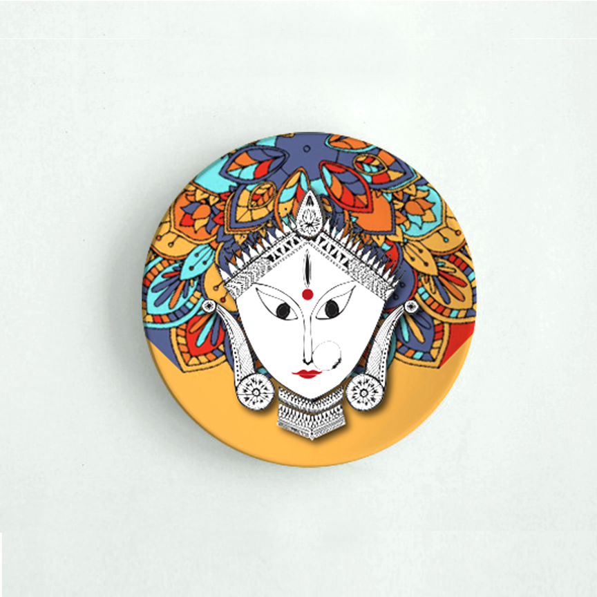Durga Maa - Decor Plate