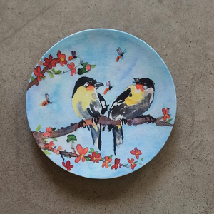 (PRE-ORDER) Wall Decor Plate by Prithivi Karthikeyan